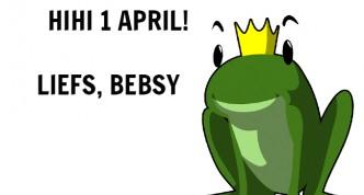 Hihi, 1 april!