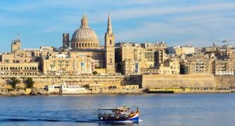 De culturele hoofdstad Valletta