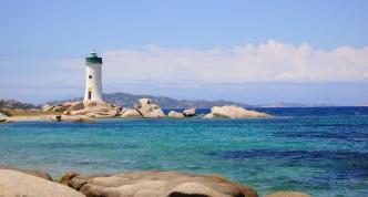 Route voor een rondreis Sardinië