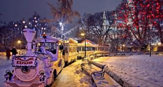 Wenen met kerst