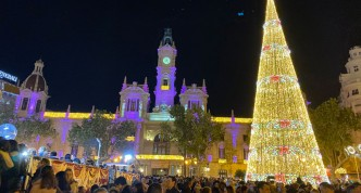 Valencia met kerst