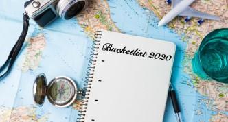 Bucketlist bestemmingen 2020