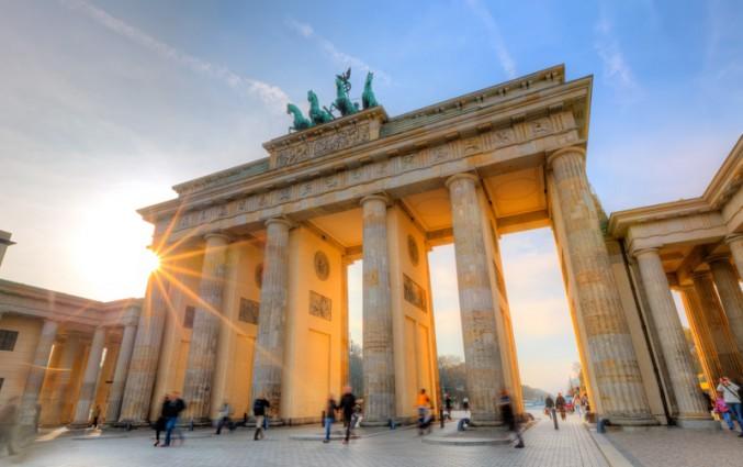 De Brandenburger Tor in Berlijn stedentrip