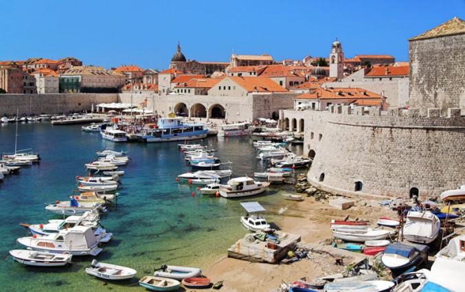 Dubrovnik - Strand en bootjes.jpg