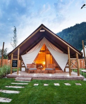 Glamping in Luxe