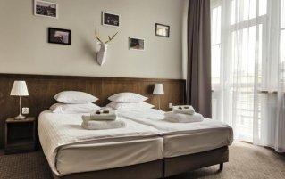 Tweepersoonskamer van Aparthotel Daniel Griffin in Krakau