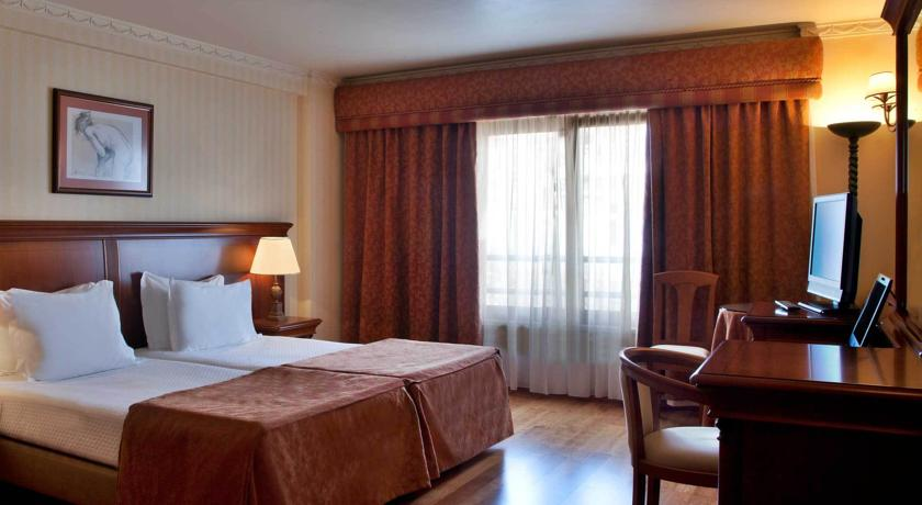 Tweepersoonskamer van Hotel Turim Lisboa in Lissabon