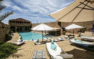 Buitenzwembad van Hotel Kasbah Le Mirage in Marrakech