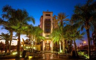 Gebouw van Hotel & Spa Hivernage in Marrakech