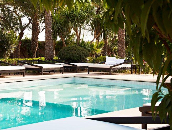 Buitenzwembad van Hotel Palais de l'O in Marrakech