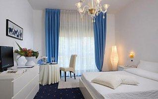 Tweepersoonskamer van Hotel La Meridiana in Venetië