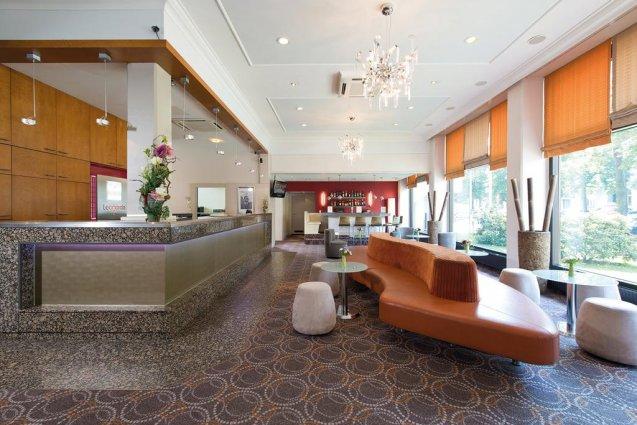 Lobby van Hotel Leonardo City West Berlijn