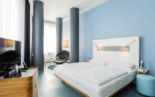 Tweepersoonskamer van Hotel Ku'Damm 101 in Berlijn