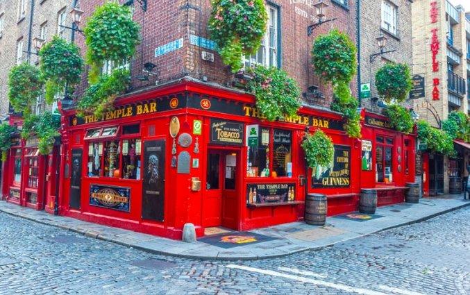 Dublin - Temple Bar straat