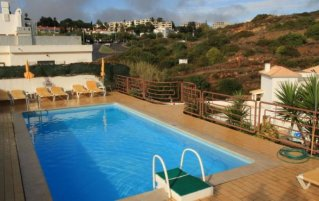 Zwembad van Hotel Colina do Mar in de Algarve