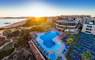 Uitzicht op Resort Auramar Beach in Algarve