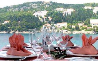Uitzicht vanuit Hotel Vis in Dubrovnik