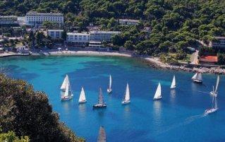 Uitzicht op Hotel Uvala in Dubrovnik