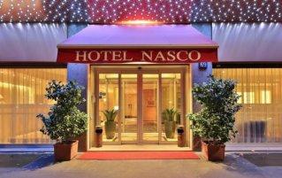 Entree van Hotel Qualys Nasco Milaan