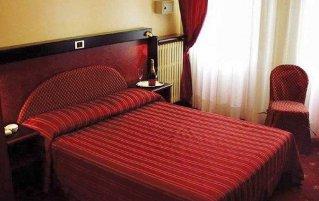 Tweepersoonskamer van Hotel Agape in Milaan