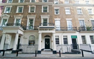 Buitenaanzicht van Hotel Orchard Paddington Londen