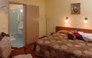 Tweepersoonskamer van Hotel Astoria in Krakau