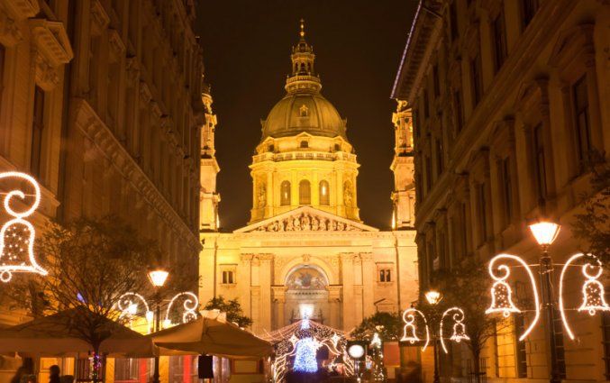 Budapest - Sint - Stefanusbasiliek kerst
