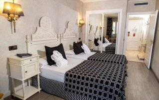 Tweepersoonskamer van Hotel Pere IV in Barcelona
