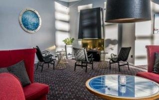 Zitgedeelte van Hotel Scandic Ariadne in Stockholm