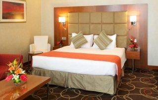 Tweepersoonskamer van Hotel Ramada Chelsea Al Barsha in Dubai