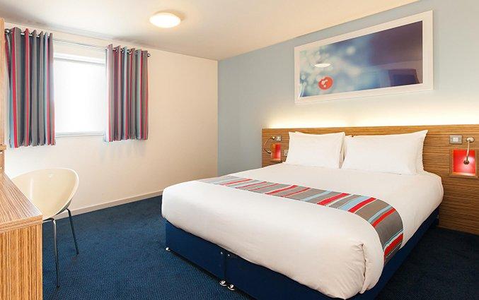 Tweepersoonskamer van Hotel Travelodge Bethnal Green in Londen