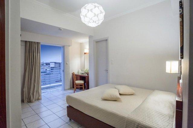 Tweepersoonskamer van Hotel Epidavros Athene