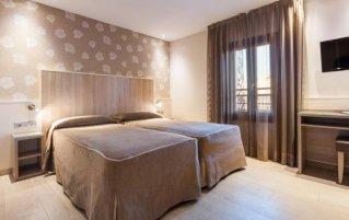Tweepersoonskamer van Hotel Santa Marta in Barcelona