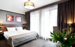 Tweepersoonskamer van hotel Golden Tulip Krakow City Center stedentrip Krakau