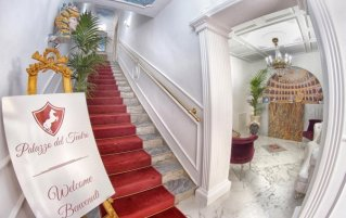 Ingang Bed & Breakfast Palazzo del Teatro
