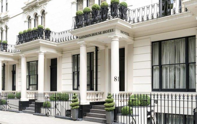 Gebouw van Hotel London House in Londen