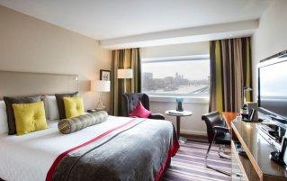 Tweepersoonskamer van Hotel The Tower A Guoman in Londen