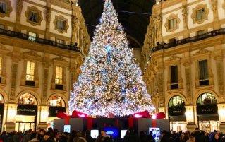 Kerstmarkten Milaan