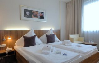 Tweepersoonskamer van Hotel Best Western City in Berlijn