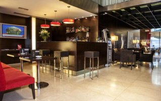 Bar van Hotel Zenit in Bilbao