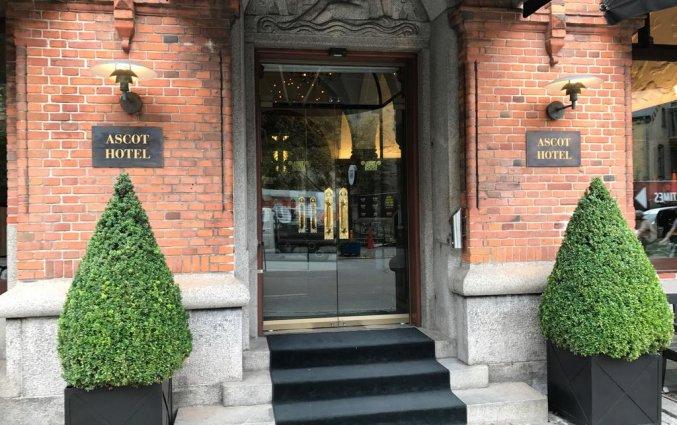 Entree van Hotel Ascot in Kopenhagen