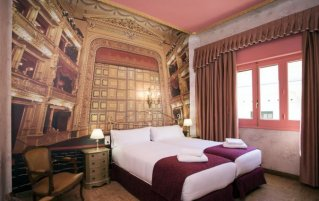 Tweepersoonskamer Hotel Casual Madrid del Teatro in Madrid