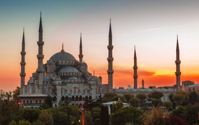 Istanbul - Moskee Sultan Ahmet