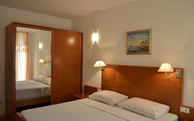 Slaapkamer van een appartement van Appartementen Lia in Dubrovnik