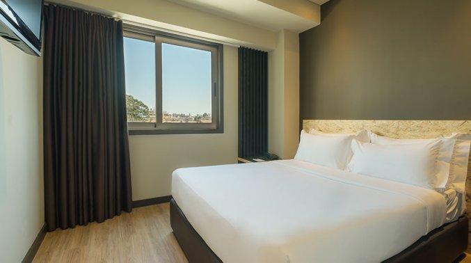 Tweepersoonskamer van Hotel HF Tuela Ala Sul in Porto
