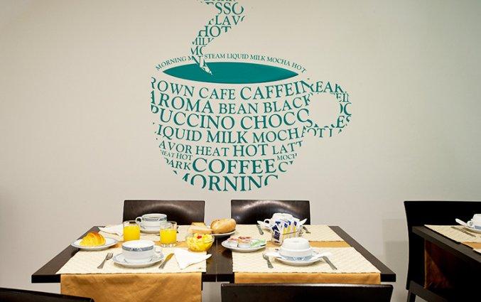 Lunchruimte van Hotel Malaposta in Porto