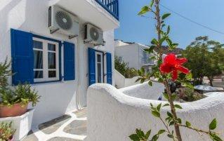 Buitenaanzicht van Appartementen Edem Garden Residence Mykonos