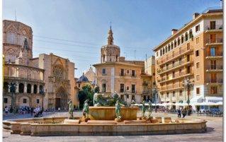 Valencia - Plaza de la Virgen