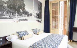 Tweepersoonskamer van hotel Soho Boutique Malaga in Malaga