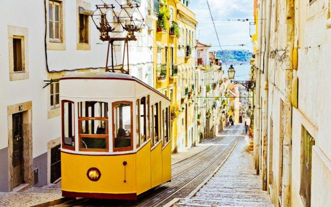 Lissabon - Tram